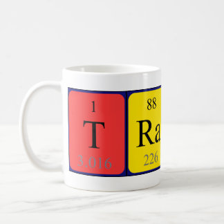 Traci periodic table name mug