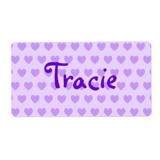 Tracie in Purple