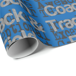 Track and Field Coach Extraordinaire Wrapping Paper