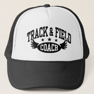 Track and Field Coach Trucker Hat