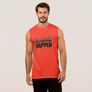 Track and Field Discus Thrower Tank Top