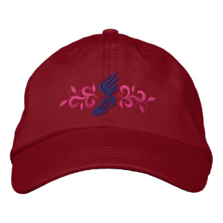 Track and Field Embroidered Hats