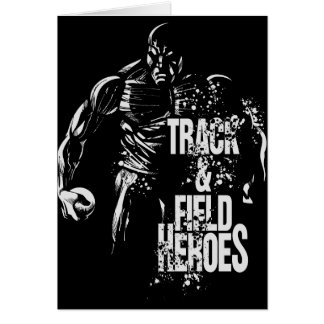 track and field heroes shot put.png greeting card