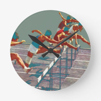 Track and Field Hurdles Clock