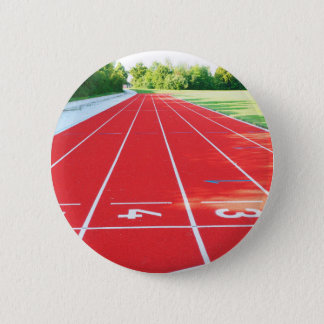Track and Field - Runner Print 2 Inch Round Button