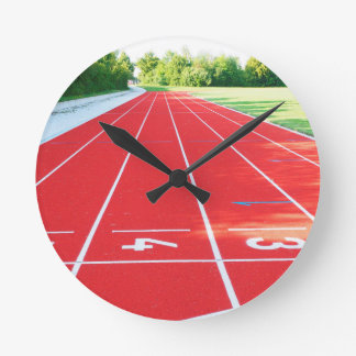 Track and Field - Runner Print Clocks