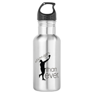 Track and Field Shot Put Water Bottle Gift