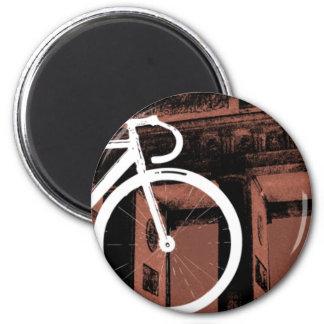 Track Bike Berlin Bronze Magnet