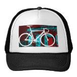 Track Bike Berlin - red blue Mesh Hat