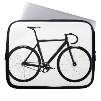 Track Bike Laptop Sleeve
