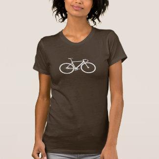Track Bike white T-Shirt