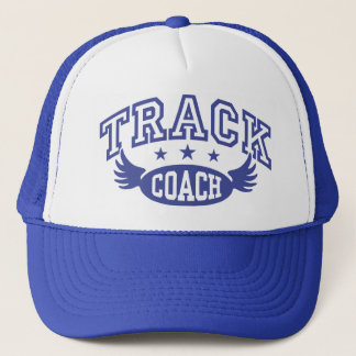 Track Coach Trucker Hat