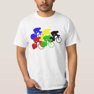Track Cycling Bicycle Race Bike Riders   T-Shirt