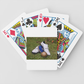 Track & Field Bicycle Playing Cards