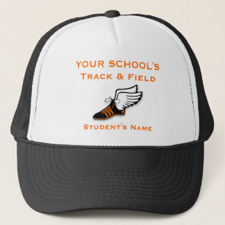 Track & Field customizable Trucker Hat