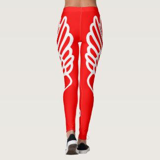 Track & Field Hermes Winged Foot Runners Leggings