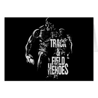 track & field  heroes-discus.png greeting card