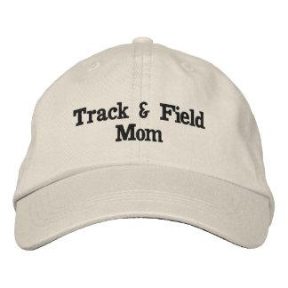 Track & field mom hat