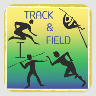 TRACK & FIELD Stickers