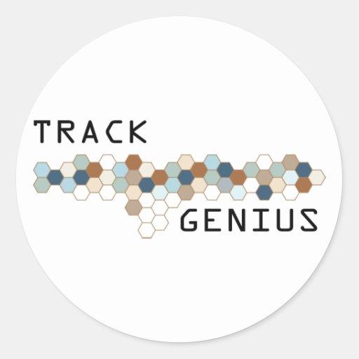 Track Genius Stickers
