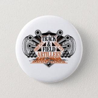track n field artillery 2 inch round button