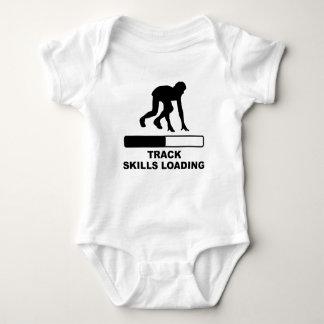 Track Skills Loading Baby Bodysuit