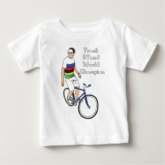 Track Stand World Champion (In Rainbow Jersey) Baby T-Shirt
