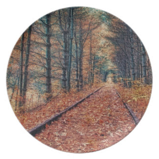 Track Through a Forest Plate