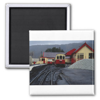 Track view of Snowdon Railway Station, Llanberis, Magnet