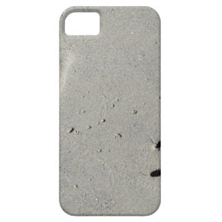 Tracks of a big dog on the sand iPhone 5 cover