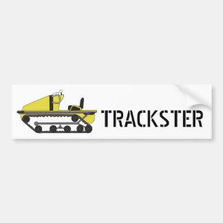 trackster, TRACKSTER - Customized Bumper Sticker