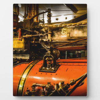 Traction Engine Plaque