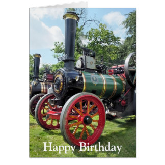 TRACTION ENGINES CARD