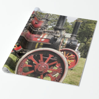TRACTION ENGINES WRAPPING PAPER