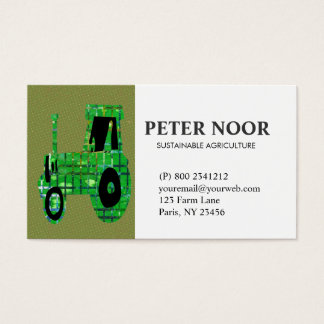 Tractor Agriculture Business Card