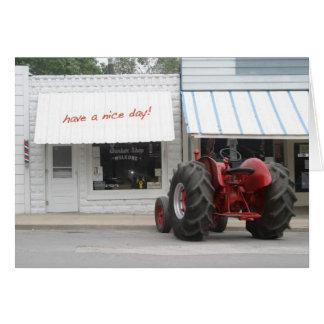 Tractor Birthday Card
