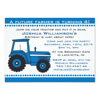 Tractor Boy / Girl Birthday Party Invitation