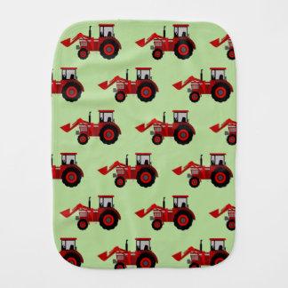 Tractor Burp Cloth
