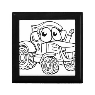 Tractor Cartoon Character Gift Box