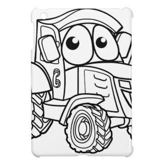 Tractor Cartoon Character iPad Mini Case