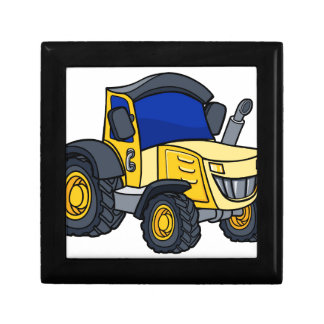 Tractor Cartoon Gift Box