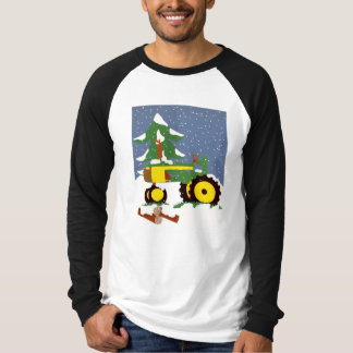 Tractor for Winter T-Shirt