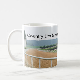 Tractor Harrows Track, Country Life Coffee Mug