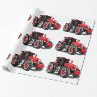 Tractor image for Glossy-Wrapping-Paper