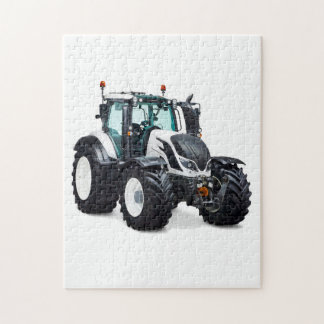 Tractor image for Photo Puzzle with Gift Box