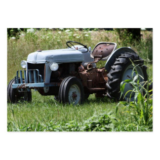 Tractor in a Field Business Card