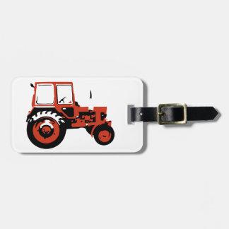 Tractor MTZ Luggage Tag