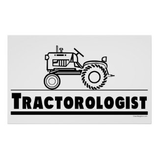 Tractor Ologist Poster