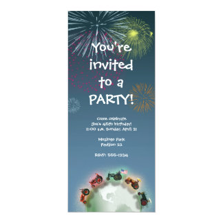 Tractor Party Invitation