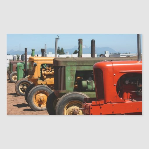Tractor Row Stickers